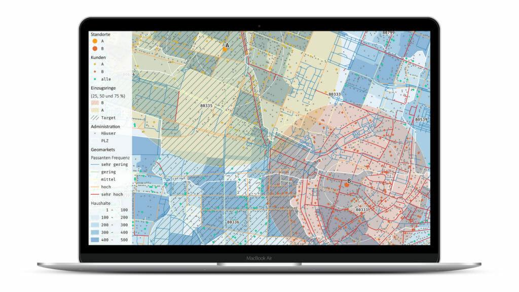 Dashboard GIS-Software
